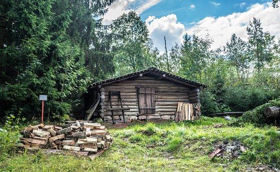 House, Skansen, Stockholm, Sweden, Scandinavia, Nature