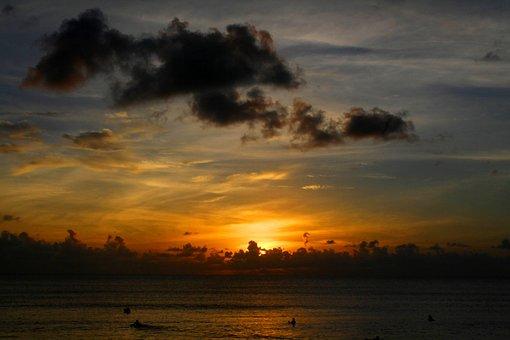Pantai Kuta, Bali, Indonesia, Beach, Sand, Sea