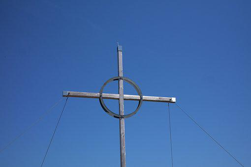 Summit Cross, Bschiesser, Mountain, Allgäu, Summit
