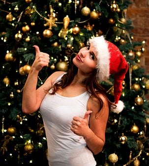 New Year's Eve, Christmas, Christmas Tree, Holiday