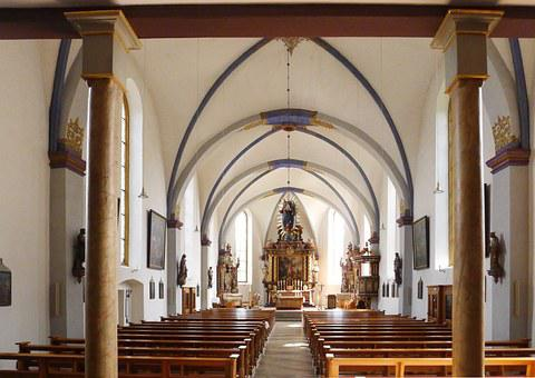 Beverungen, Church, Interior, Religious, Christian