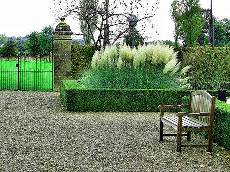Park, Saint Gerlach, Netherlands, Bench, Lonely