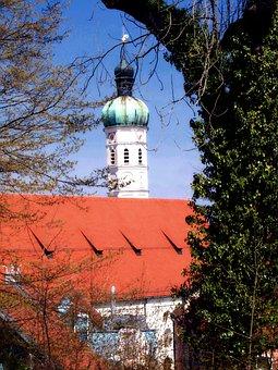 Saint Jacob, Church, Building, Roof Church Tower