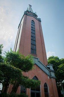 Building, Christian Church, Tall Buildings, Wuxi