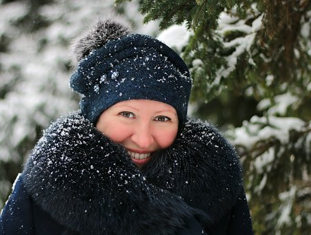 Girl, Winter, Snow, Cold, Frost, Weather, Smile