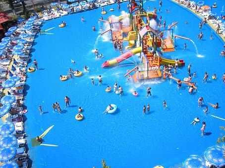 Amusement, Aqua, Beach, Blue, Fun, Gondola, Holiday