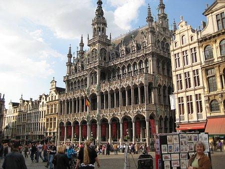 Belgium, Brussels, City Center