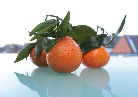 Mandarins, Closeup, Food, Dessert, Delicious