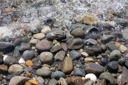 Stone, Breed, Water, River, Wave, Duct, Rock, Ripple