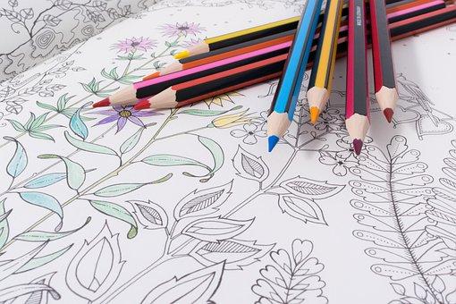 Pencil, Drawing, Book, Colorful, Creativity, Sketch