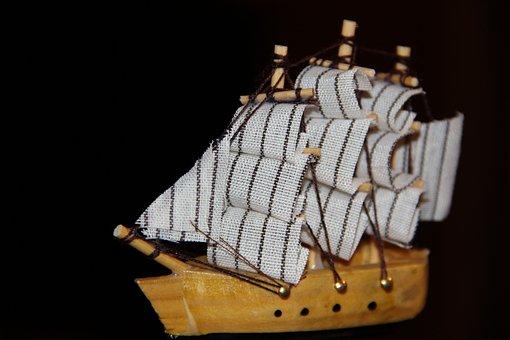 Toy, Ship, Samodelkin