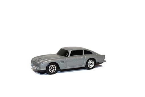 Aston Martin, James Bond, Auto, Toy Car, 007, Macro