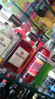 Bar, Bottles, Alcohol, Italy, Beverage, Bar Friz