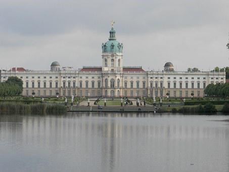 Germany, Berlin, Charlottenburg Palace, Castle