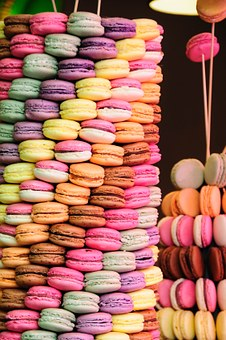 Macarons, France, Brand, Candy