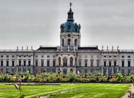 Castle Charlottenburg, Back, Berlin, Places Of Interest
