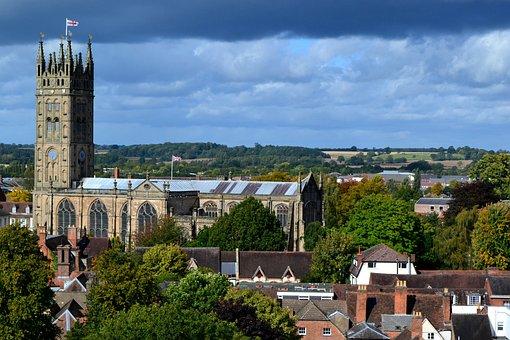 St Mary's Church, Great Britain, Warwick, Church, View