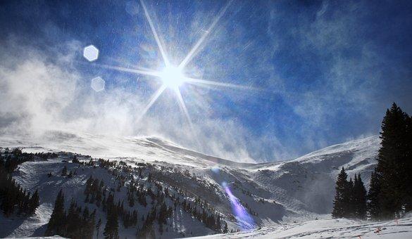 Colorado, Breckenridge, Landscape, Snow, Scenic
