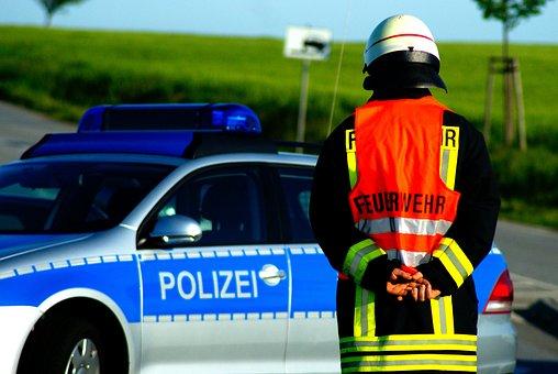 Fire, Police, Accident, Police Car, Patrol Car