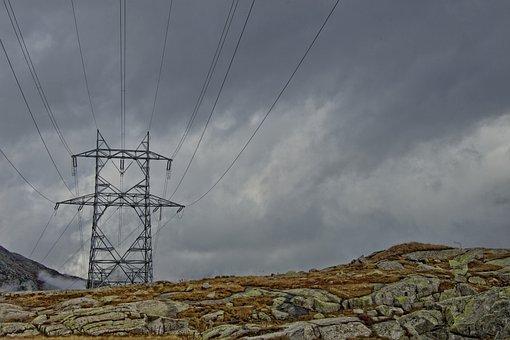 Mountains, Mountain Landscape, Pass, Gotthard