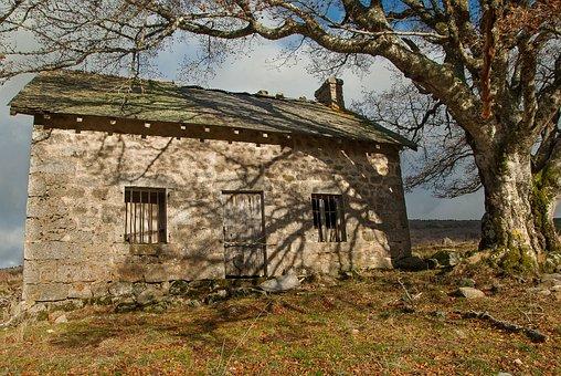 Lozère, Buron, Abandoned House, Pasture, Berger, House