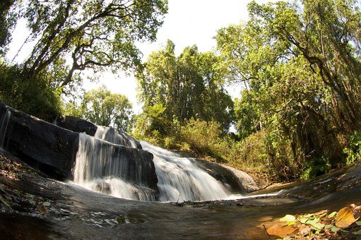 Malawi, Nature, Outside, Landscape, Waterfall