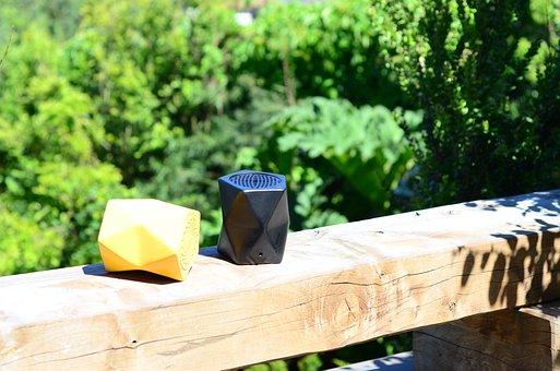 Speaker, Design, Modern, Ceramic, Color, Eco, Green