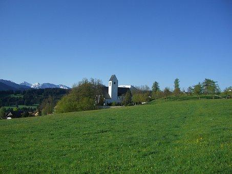 Oy Mittelberg, Allgäu, Church, St Michael