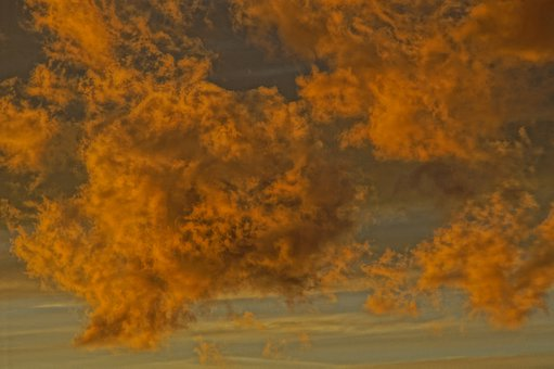 Clouds, Painting, Art, Illuminated, Sky Cloud