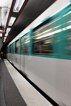 Metro, Paris, Movement, Underdround, Transport