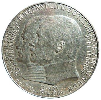 Mark, Hessen, Philipp, Coin, Currency, Numismatics