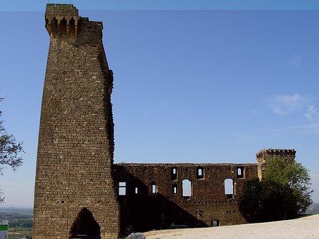 Châteauneuf Du Pape, Castle, Ruin, Provence, Vaucluse