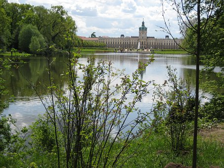 Castle, Berlin, Charlottenburg Palace, Park, Relaxation