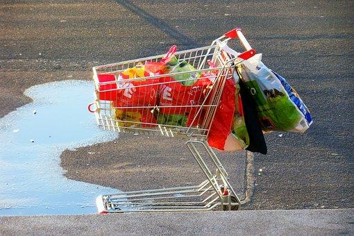 Empties, Shopping Cart, Collect Bottles