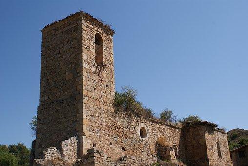 La Rioja, Spain, Church, Architecture, Luezas, Cameros