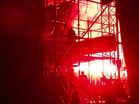 Backstage, Stage, Buehenbeleuchtung, Disco