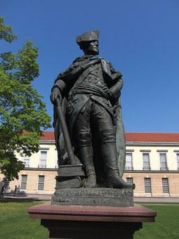 Frederick The Great, Statue, Berlin