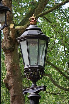 Street Lamp, Lamp, Light, Vintage, Old, Crown