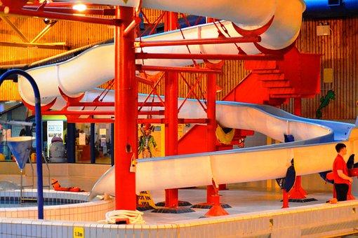 Slide, Swimming Pool, Leisure, Swim, Flume, Water, Pool