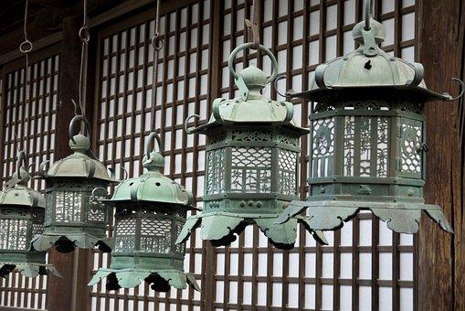 Lamp, Japan, Temple, Zen, Tradition, Asia, Shinto