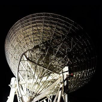 Radio Telescope, Effelsberg, Space, Research, Astronomy