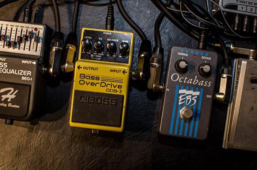 Music, Effektgerät, Bass, Overdrive, Distortion, Pedal
