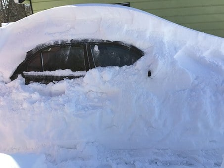 Snow, Blizzard, Snowstorm, Winter, Car, Cold, Weather