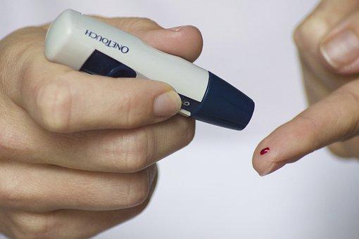 Diabetes, Blood, Finger, Glucose, Diabetic, Sugar