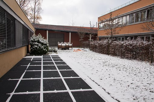 Snow, New Zealand, Building, Building Complex, Winter