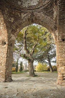 Kazanluk, Bulgaria, Park, Roses, Thracian