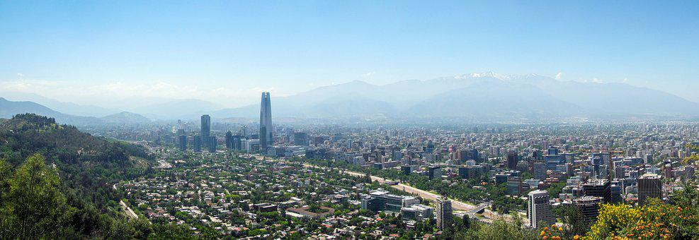 Chile, Santiago, Chilean, City, Urban, Skyline