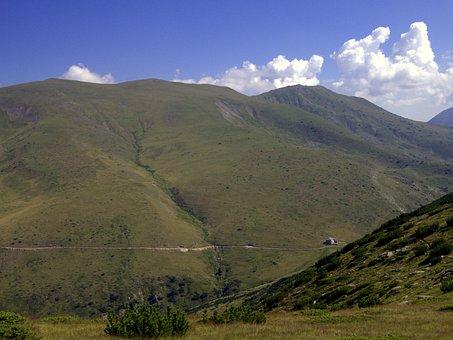 Bulgaria, Mountains, Rila, Clouds, Cottage Makedonia