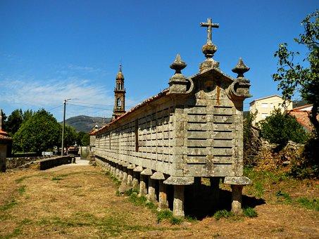 Orreo, Galicia, Santiago, Compostela, Camino, Spain