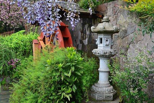 Japanese Garden, Metropolitan Park, Santiago